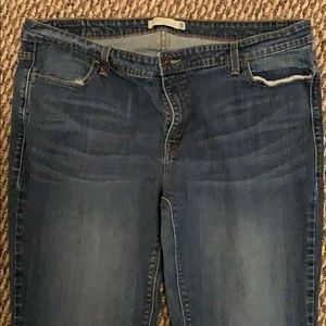 Levi's bootcut 590 jeans (discontinued)